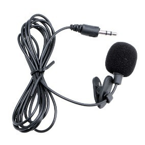 Microfone De Lapela 3.5mm Stéreo Youtubers