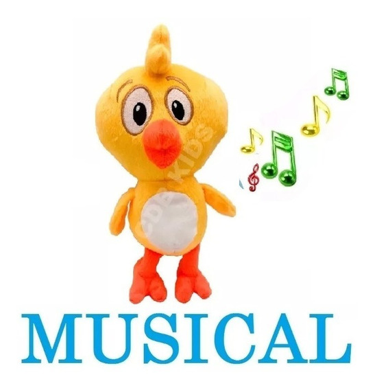 Pintinho Amarelinho Musical 22 Cm