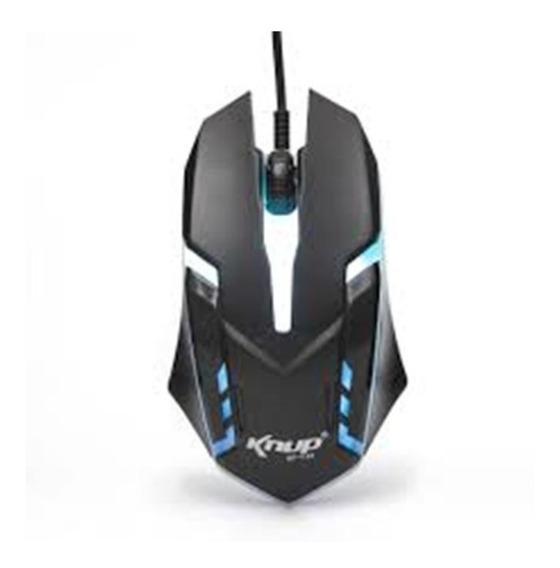 Mouse Gamer 1.600 Kp-v-40 Plug And Play Com Iluminação Led