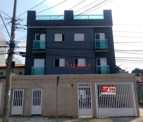 Cobertura Residencial À Venda, Jardim Santo Alberto, Santo André. - Co0464