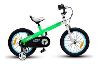 Bicicleta Infantil Royal Baby Buttons Aluminio 14 Niña Niño