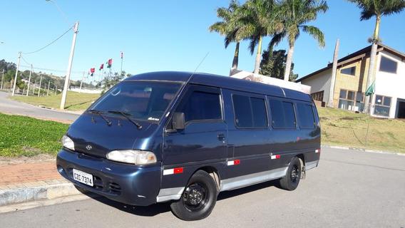 H100 Van Utilitario 16l Tds Micro Onibus Cel Car
