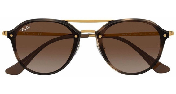 Ray Ban Junior Double Bridge 152/13 53-12 Rb9067sn + Estojo