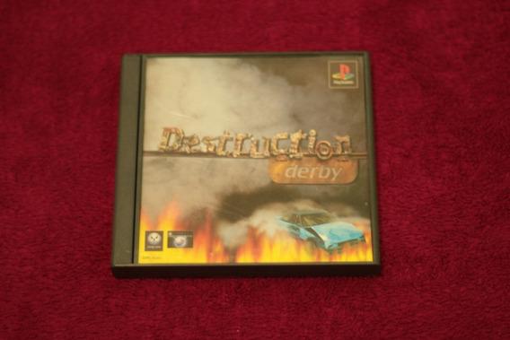 Jogo Destruction Derby Original Playstation 1 Frete Gratis