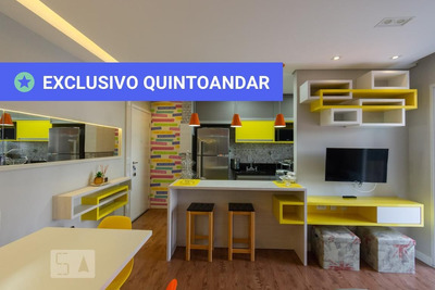 Apartamento No 8º Andar Mobiliado Com 2 Dormitórios E 1 Garagem - Id: 892936124 - 236124