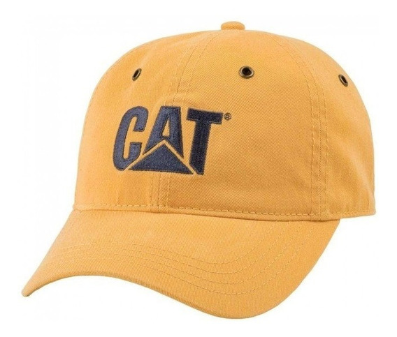 Cachucha Caterpillar 100% Original Gorra Mostaza Mod. Cat13