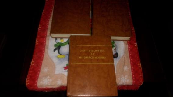 Biblioteca Da Matemática Moderna Lisa 3 Volumes Antônio Marm