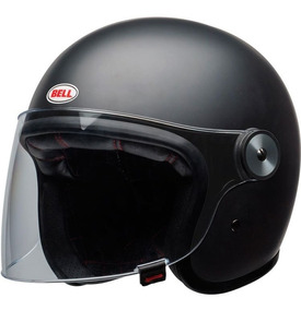 Capacete Bell Riot Solid Preto Fosco Rs1