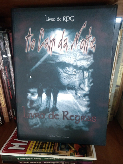 Rpg Nacional Ao Cair Da Noite Completo - 2 Livros