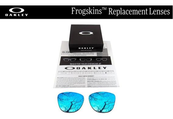 Micas De Reemplazo Para Oakley Frogskins Color Sapphire
