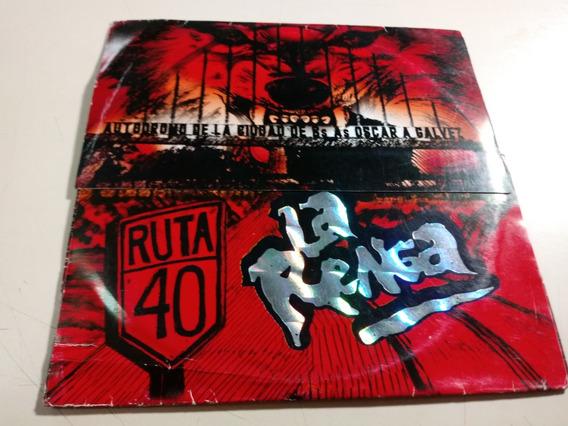 La Renga - Ruta 40 / Autodromo Oscar Galvez - Dvd