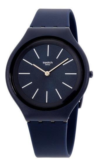 Relógio Masculino Swatch Svun107 Pulseira De Silicone