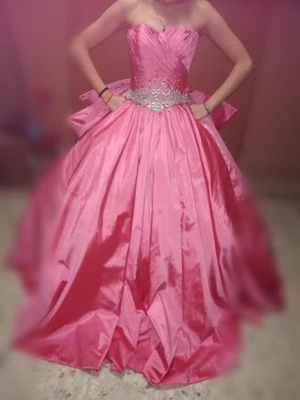Vestido De Xv Años Diseñador Amaraby