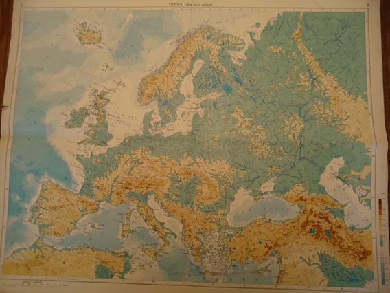Mapa Antiguo De Europa