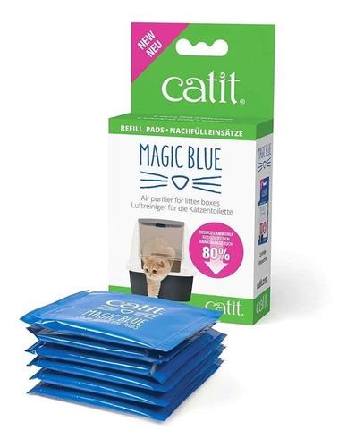Almohadilla Filtro Repuesto Catit Magic Blue 6un