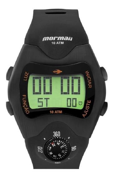 Relógio Digital Bússola Mo1324ac-2p Mormaii
