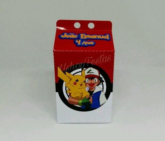 Caixa Milk Pokémon C/20 {ushop Festas}.
