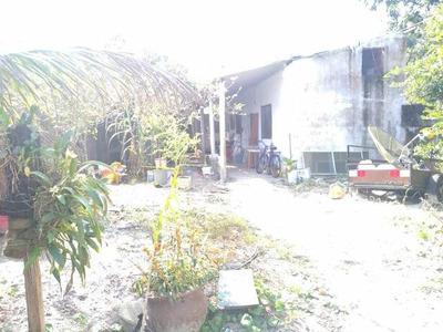 Casa Simples De Laje Toda Murada Medindo 320 Metros