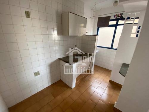 Kitnet Com 1 Dormitório Para Alugar, 40 M² Por R$ 550,00/mês - Vila Tibério - Ribeirão Preto/sp - Kn0013