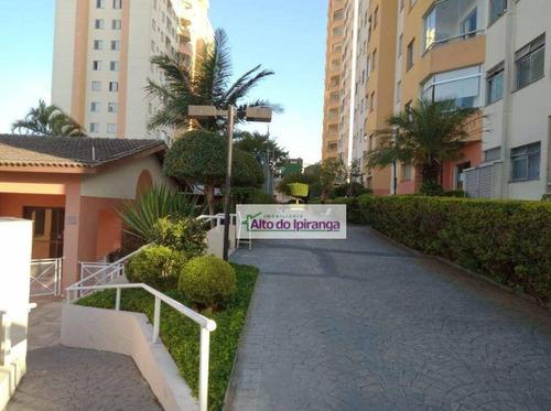 Imagem 1 de 30 de Apartamento Com 3 Dormitórios À Venda, 62 M² - Jardim Vergueiro (sacomã) - São Paulo/sp - Ap5561