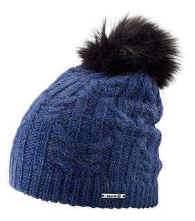 Gorro Beanie Clima Frío Montañismo Ivy Unisex Azul Salomon