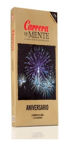 Imagen 1 de 4 de Carrera De Mente Aniversario Juego De Mesa Ruibal 4108 Full