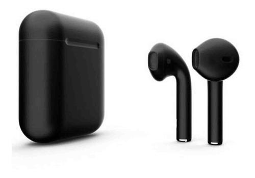 Auricular Bluetooth Inalambrico I12 Tactil Base Cargador
