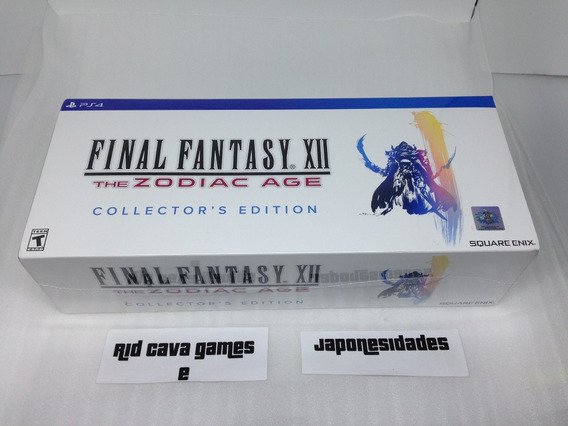 Final Fantasy Xii The Zodiac Age Collectors Edition Ps4
