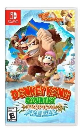 Videojuego Switch Donkey Kong Country Tropical Freeze Tk660