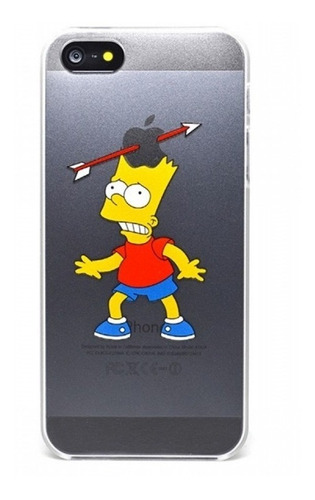 Diseño Bart Simpson iPhone 6 Plus