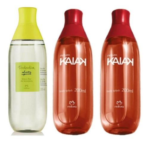 Spray Lima Y Flor De Naranja + 2 Spray Kaiak Clásica Natura