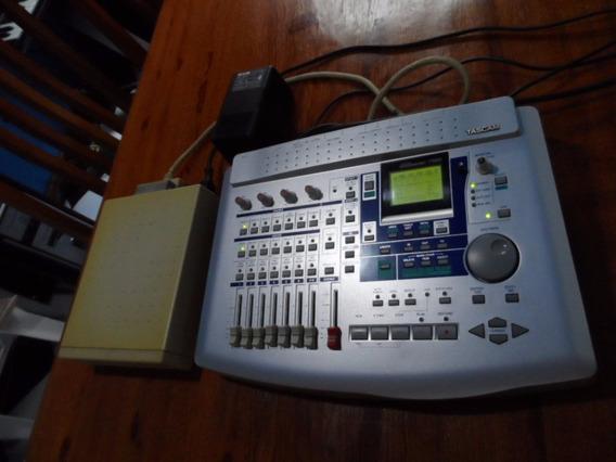 Gravador Digital Tascam Portastudio 788 Grava Faz Mixagem