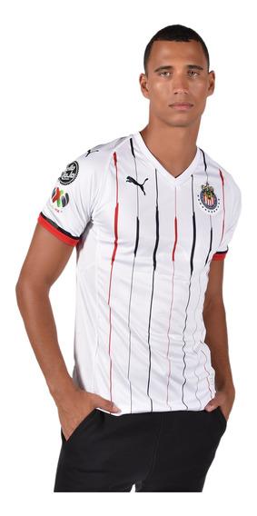 Puma Playera Chivas Para Hombre Blanca 703877 01