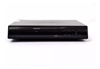 Reproductor Dvd Multiformato Usb 2 Canales Dvd-680 Makena