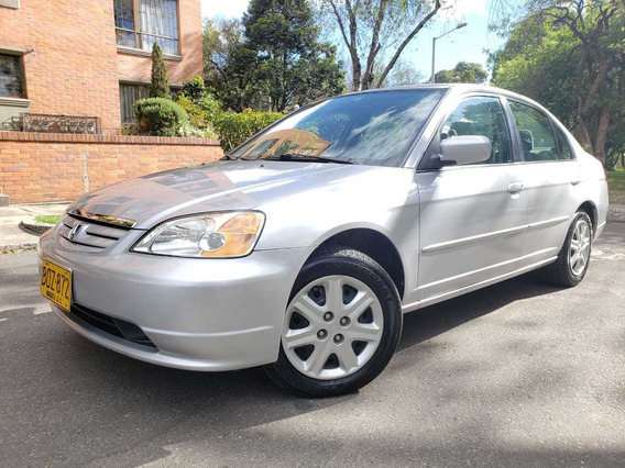Honda Civic Lx Mt 1.7cc A/a