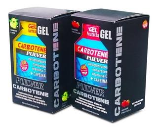 Gel Carbonote 40 Gr 10 Unid Pulver Cafeína Vitamina C