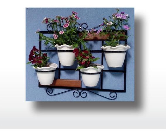 Suporte De Parede Para Vasos De Plantas, Treliça Vertical