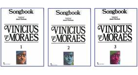 Songbooks Vinícius De Moraes - Volumes 1, 2 E 3 Juntos