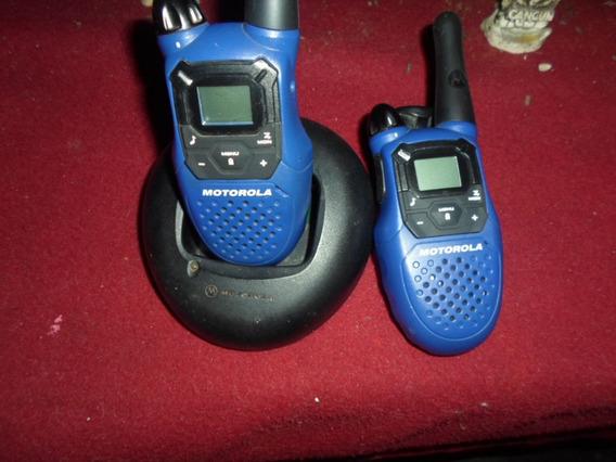 Radios Trasmisores Motorola Talkabout Mc220r De 22 Canales