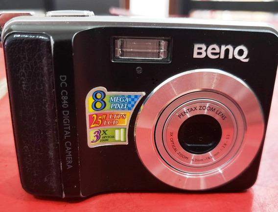 Camara De Fotos Y Filmadora Benq Dc C840 De 8 Megapixeles.