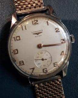 Reloj Longines Cuerda Manual Pulsera Hombre Funcionando
