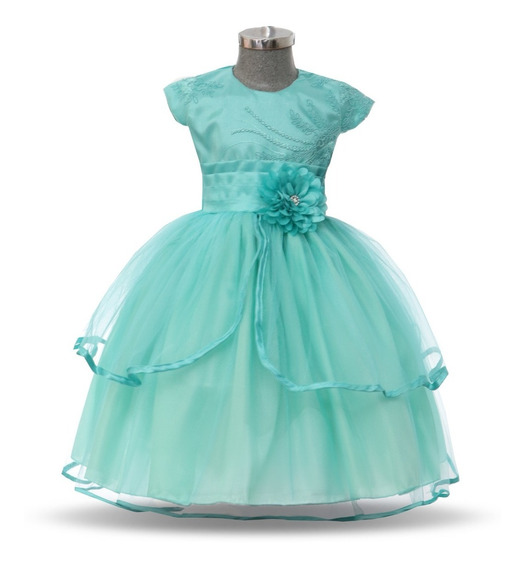 Batita Vestido Para Bebé Elegante Modelo 743