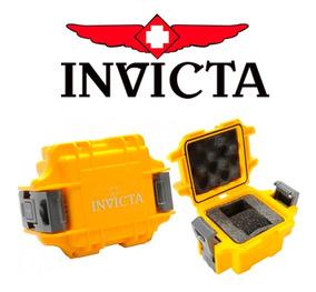 Maleta P/ 1 Relógio Invicta Caixa Amarela Coleção Original