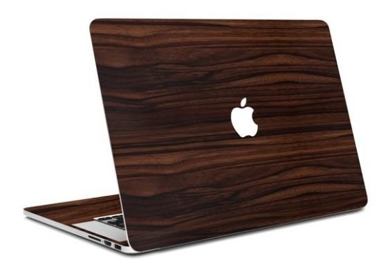 Adesivo Estampa De Madeira Apple Macbook Pro 15/ A1286