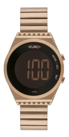 Relógio Feminino Euro Rose Digital Eubjt016ab/4j