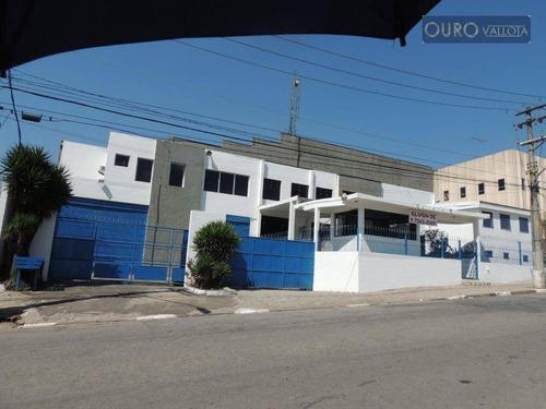 Galpão Para Alugar, 3632 M² Por R$ 62.000/mês - São Paulo/sp - Ga0585