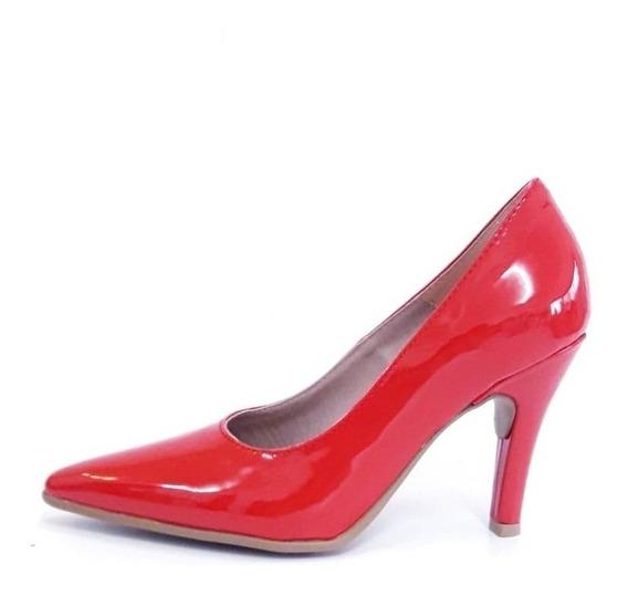Zapato Mujer Stiletto Luis Xv Charol Fiesta Negro -nude -oro