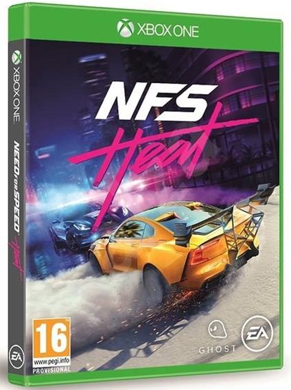 Jogo Need For Speed Heat Xbox One Midia Fisica Português Br