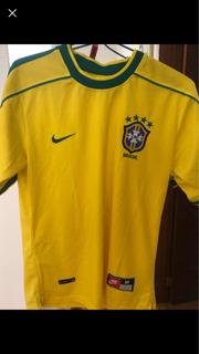 Camisa Barcelona E Brasil