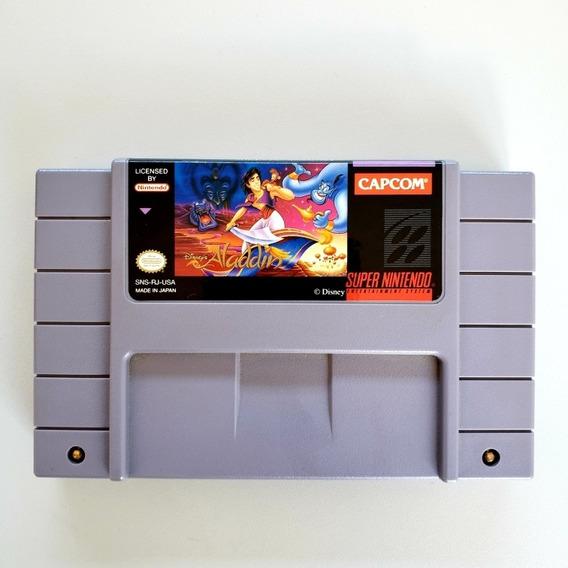 Aladdin Snes Original Super Nintendo